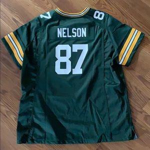 Nike Green Bay Packer Jordy Nelson Jersey
